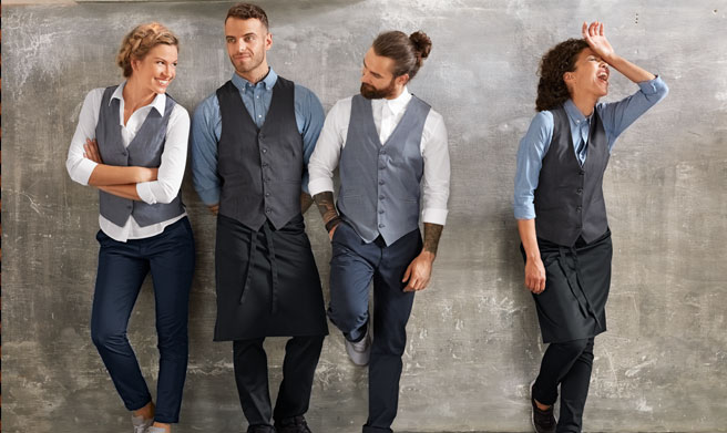 Camisa de Hostelería Dakota | Uniformes de Camareros Modernos